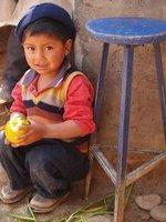 Boy and his orange, Ayacucho